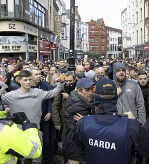 Claire Simpson: Dublin anti-lockdown protesters oppressed by their own conspiracy theories