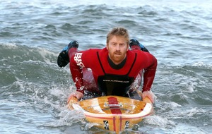 Surfer raises £15,000 for depression charity through night swims