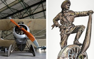 Pioneering fighter pilot to feature in memorial to Sikhs killed in wars