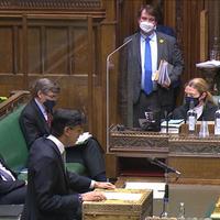 Budget 2021: British chancellor Rishi Sunak gives Stormont executive additional £410 million