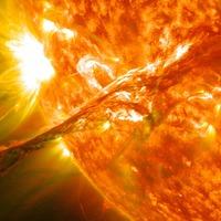 Scientists locate where potentially hazardous particles on the sun originate