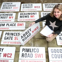 Abbey Road street sign fetches £37,000 at auction