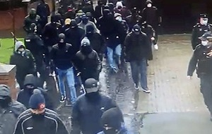 Four released over masked UVF gathering in Pitt Park