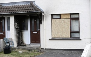 Petrol-bomb attack on Kells house