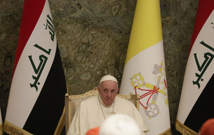 Pope Francis urges Iraq to embrace its Christians on historic visit
