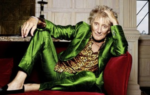 Sleb Safari: Rod Stewart's model railway is sailing, it is sailing, home again, cross the sea