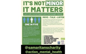 Fermanagh minors fundraising for mental health charities
