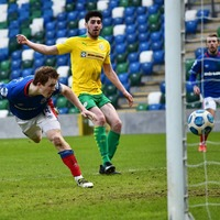 Cliftonville brought down to earth with a bang by Linfield