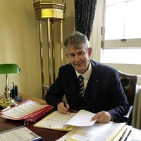 Agriculture minister Edwin Poots would like to see 'a greater level of focus on other conditions' amid Covid pandemic