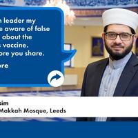 Imam and pastor urge people to 'check before you share' posts about vaccine