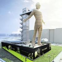Entrepreneur looks for site to host world's tallest moving statue