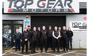 Tyrone's Top Gear Motors NI marks  25 years in business