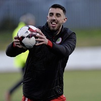I won't rush Gormley back from elbow injury insists Cliftonville boss Paddy McLaughlin