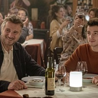 Liam Neeson and son Micheal Richardson 'catalyse tepid screen chemistry' in melancholic drama Made in Italy