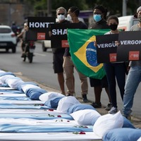 Brazil becomes second country with 300,000 Covid deaths