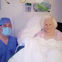 NI's oldest woman recovering after undergoing hip surgery aged 106