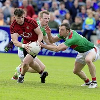 Donal O'Hare could yet feature for Down and Burren as operation put on long finger