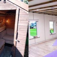Yoga studio and tiki bar among lockdown-inspired Shed of the Year entries