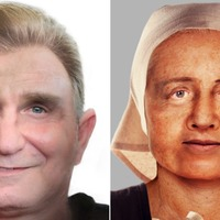 Faces reconstructed from 700-year-old skulls found in excavation of graveyard