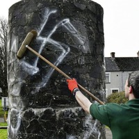 East Belfast racist graffiti branded 'repellent'