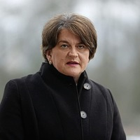 'I think it is a runner,' Arlene Foster says of UK sharing vaccines with the Republic