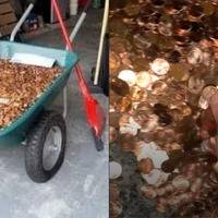 Man receives final pay in thousands of pennies after quitting job