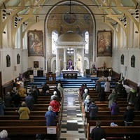 Delight and relief as Catholic churches re-open ahead of Palm Sunday