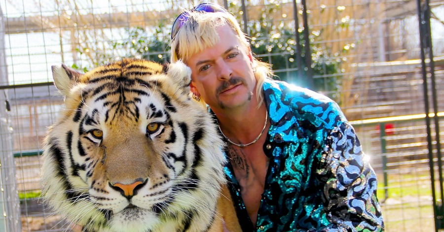 Tiger King star Joe Exotic's husband says they are 'seeking a divorce'