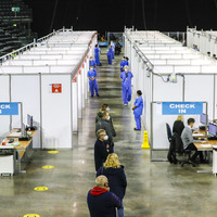 'Significant milestone' as Belfast's SSE Arena opens for mass Covid vaccination