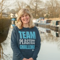 Paddle-boarder pledges support for waterways charity's plastics challenge