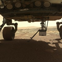 Nasa's Perseverance rover begins deploying Ingenuity helicopter on Mars