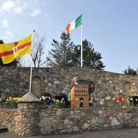 Rededication anniversary for Tyrone Garden of Remembrance