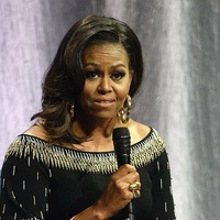 Michelle Obama reconnects with 'resilient and determined' London schoolgirls
