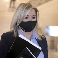 Michelle O'Neill apologises again over Storey funeral as MLAs vote to censure Sinn Féin ministers