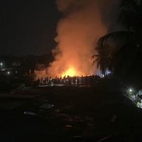 Rohingya camp fire in Bangladesh kills three
