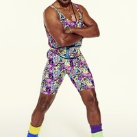 Sleb Safari: Mr Motivator's bumbag collection spans two continents