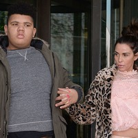 Katie Price reveals son Harvey smashed car window because of hiccups