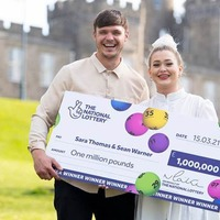 Carer celebrates £1 million scratchcard win