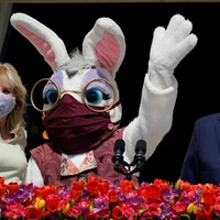 In Video: Easter bunny visits White House press room
