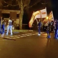 Illegal loyalist parade in Ballymena sparks riot, with more marches expected