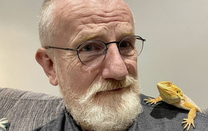 Jake O'Kane: Up close and personal with Boba the bearded dragon
