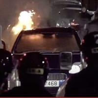 Belfast riot broadcast live on internet