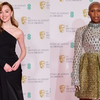 Sparkles and suits: See all the best looks from the Baftas red carpet
