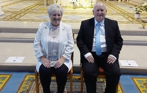 Sinn Féin MLA Fra McCann marries long term partner after 39 years