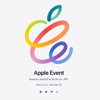 Apple confirms special event for April 20