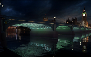 Artist behind Thames illuminations hopes they will be part of London 'celebration'