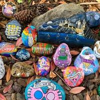 Potterheads go wild for US artist's Harry Potter rock garden