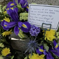 109th anniversary of Titanic sinking marked with online commemoration