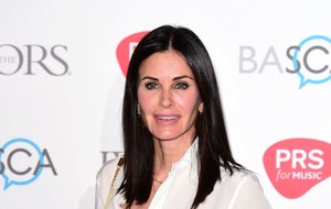 Courteney Cox channels Monica Geller in Instagram video