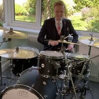 BBC's drumming weatherman performs live on the news on viral anniversary